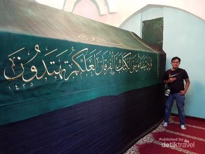Makam Nabi Musa, Panjangnya 3 Meter