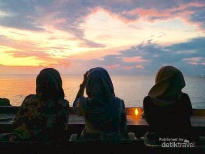 Sunset dari Rock Bar Bali: Juara!
