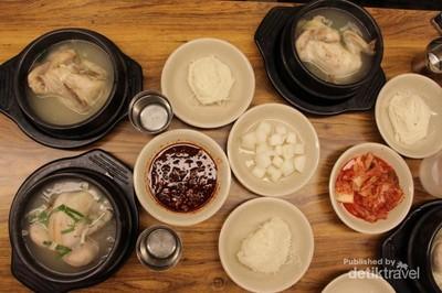 Liburan Musim Semi di Korea Selatan: Coba Kuliner Samgyetang