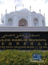 Masjid Ramlie Mustopa di Sunter, Jakarta Utara