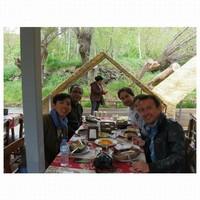 Makan siang bersama sebelum mengexplore Ihlara valley