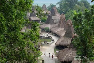 Tentram dan Damai di Kampung Adat Prai Ijing Sumba