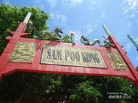 Tanda Kelenteng Sam Poo Kong