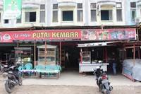 Salah satu kedai di Matangglumpang Bireuen yang menjual Sate Matang