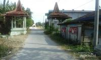 Jalan memasuki obyek wisata Api Abadi Mrapen