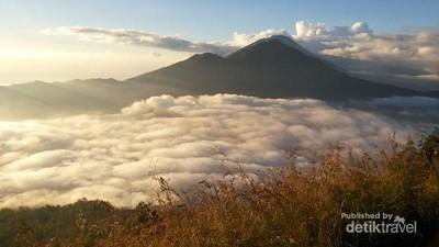 Amazing View di Gunung Batur, Bali