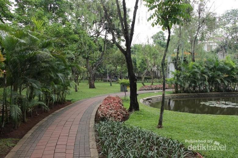 Taman Asyik Buat Olahraga di Jakarta Selatan