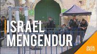 Israel Singkirkan Pendeteksi Logam di Gerbang Masjid Al-Aqsa