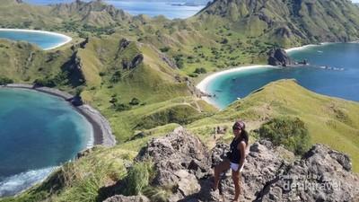 Pulau Padar yang Jadi Favorit Selebriti Dunia