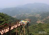 Pemandangan ketinggian yang indah