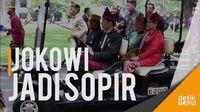 Saat Pak Jokowi Jadi Sopir untuk Jusuf Kalla