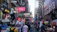 Berbelanja murah di Mongkok