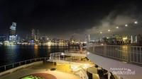 Keindahan Hong Kong pada malam hari memang luar biasa