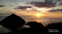 View sunset dari atas Bukit Silvia sungguh sedap dipandang mata
