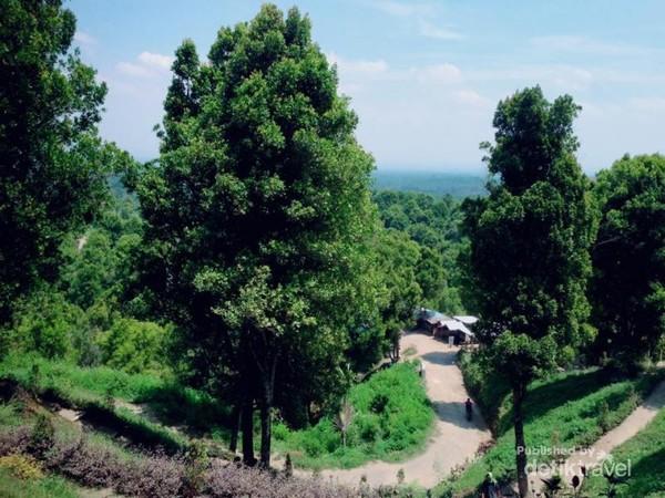 Keindahan jalur Bukit Teletubies