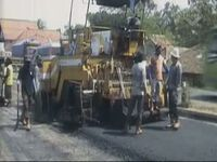 Perbaikan Jalan Rampung Sebelum Arus Padat
