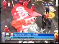 Ekor Pesawat AirAsia Dibawa ke Pelabuhan Kumai