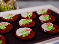 Gingerbread Struzel Cookies