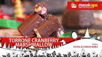 Torrone Cranberry Marshmallow