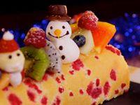 Fruit Log Cake in Fraisier Style
