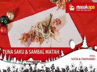 Tuna Saku and Sambal Matah