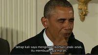 Obama, Tangisan dan Penembakan Brutal