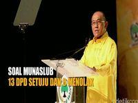 Soal Munaslub, 13 DPD Setuju dan 6 Menolak