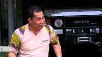 Komjen Buwas dan Hobi Nyuci Mobil