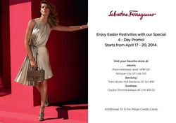 Salvatore Ferragamo 4 Day Promo