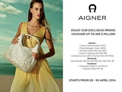 Aigner Exclusive Promo