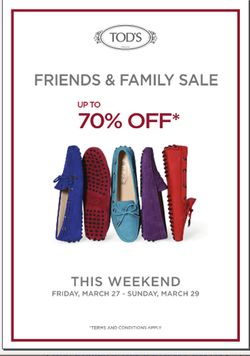 TODS Friends & Family Event