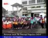 Ratusan Anak TK Datangi Mapolres Jakut