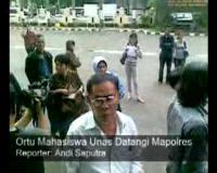 Ortu Mahasiswa Unas Datangi Mapolres Jakarta Selatan