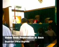 Hakim Tolak Praperadilan Al Amin