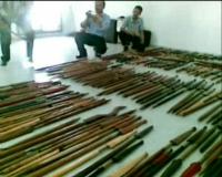 Ratusan Senjata Kuno Ditemukan di Tebet
