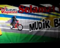 Suzuki Ajak 600 Bikers Mudik Bareng
