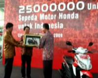 Motor ke-25 Juta Honda