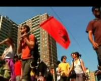 Demonstran Vs Polisi Bentrok di Toronto