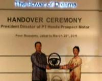 Honda Ganti Pimpinan