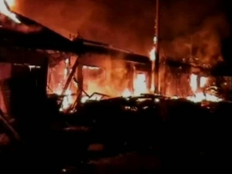Pasar Cibeber Ludes Terbakar
