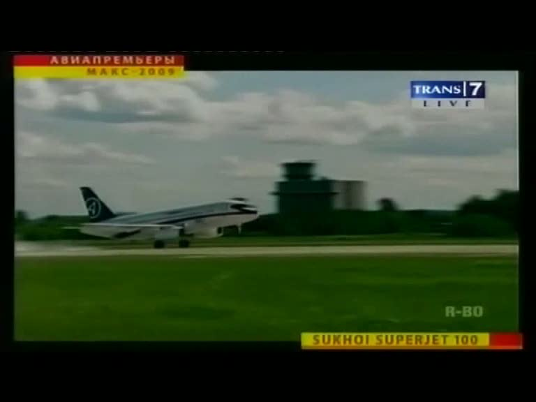 Sukhoi Superjet Sering Kecelakaan