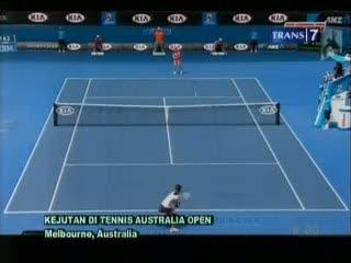 Kejutan di Tennis Australia Open