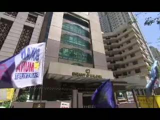 Demo Mengecam Kekerasan Konflik Sabah