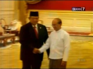 SBY Dorong Rekonsiliasi di Myanmar