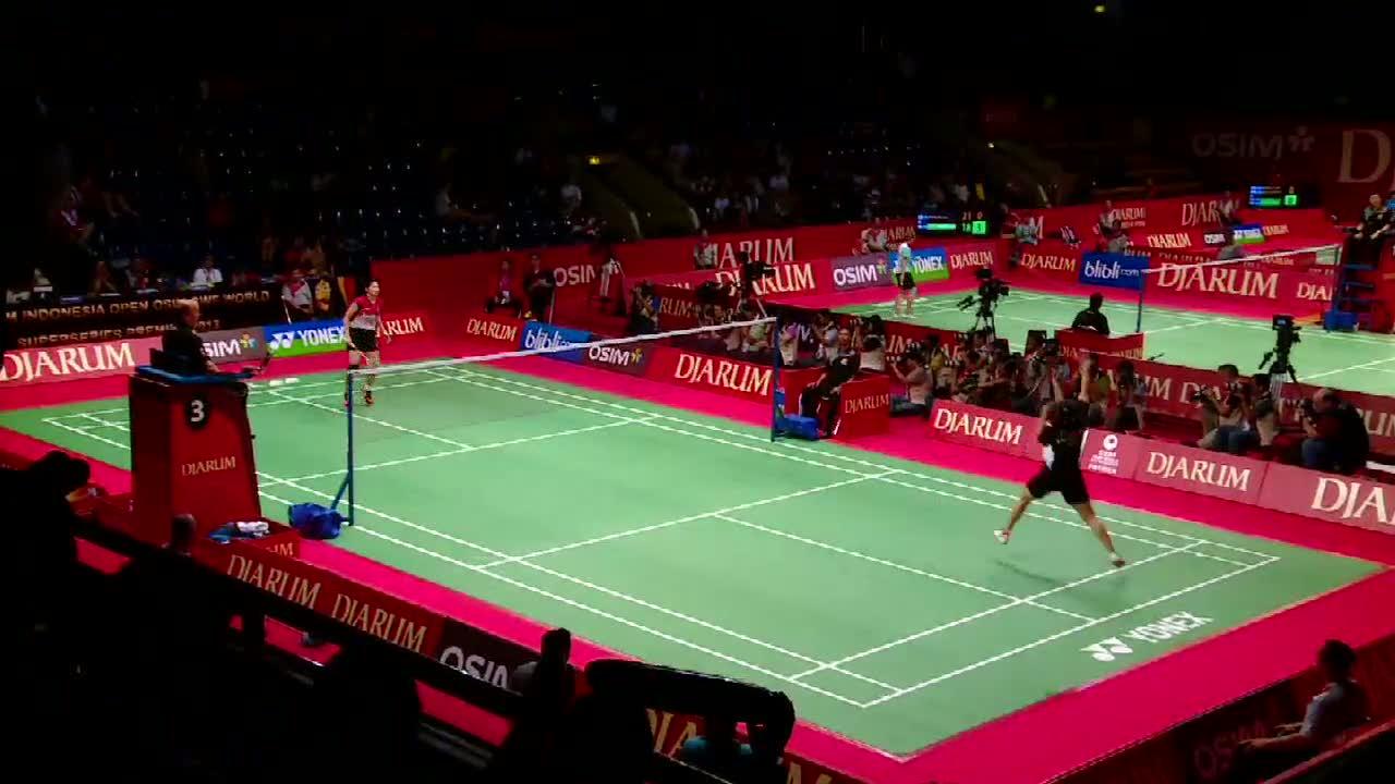 Linda Kandas di 32 besar Indonesia Open 2013