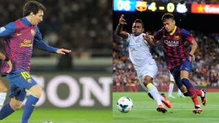 Neymar Sedih Santos Dicukur Barcelona