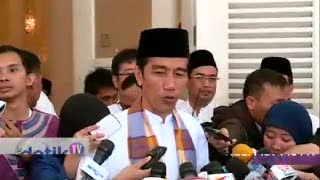 Jokowi : Selamat Idul Fitri 1434 H