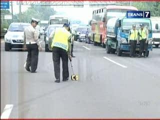 Polisi Gelar Olah TKP Kecelakaan Maut