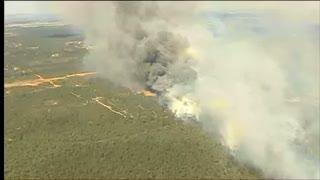 Hutan Terbakar, 2000 Mahasiswa dan Staf Kampus Dievakuasi