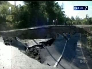 Banjir Bandang, 4 Desa Terisolir